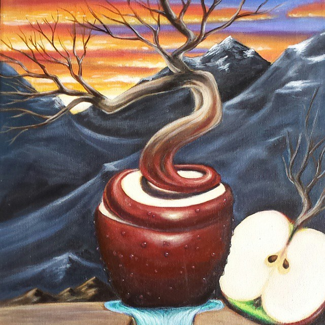 Is this not one of the most apeeling paintings you've ever seen?Artist Jasen Boston really dishes out a delicious treat with this piece!Fruits of Life Jasen Boston(16 X 20)Www.hartgallerytn.com