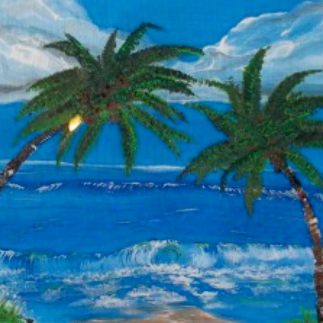 This painting comes with all of the beauty of the beach with non of the sand. True paradise.Paradise FoundRon Johnson14 X 11 Framed$50.00Www.hartgallerytn.com