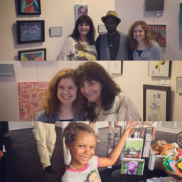 What a day! Success! Success!#hartgallerytn #hartMEM #artwithpurpose