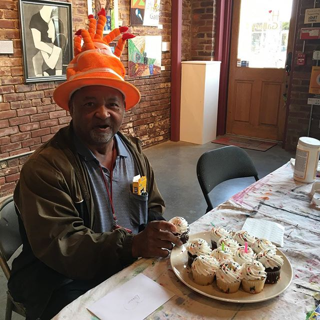Happy birthday to Dennis, our hat man! #hartcha #hartgallerytn #birthdayboy