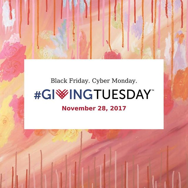 Just a day away! Artwork by Jennifer Davis. #chagives #hartgallerytn #iamhart #givingtuesday